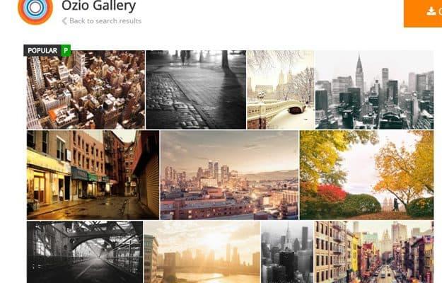 Ozzio Gallery: Google fotoalbums koppelen in Joomla